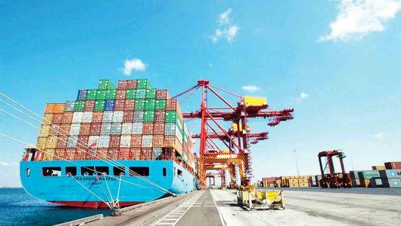 نمایش اثر تحریم بر تجارت خارجی