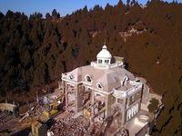 تخریب یک کاخ غیرمجاز +تصاویر