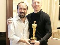 جایزه اسکار به دست فرهادی رسید +عکس
