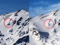 تلاش دوباره امدادگران برای صعود به منطقه سقوط هواپیما +تصاویر