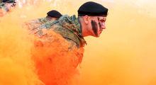 تمرینات نظامی دریانوردان روسیه +تصاویر