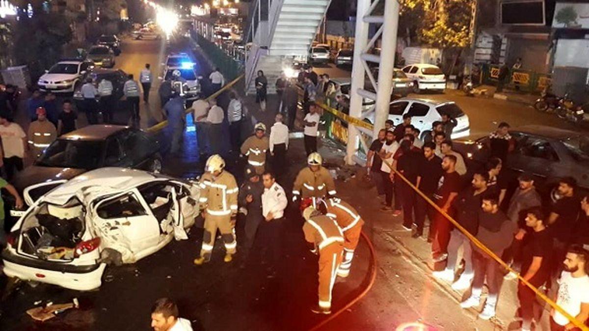 اعلام ۳منطقه دارای بیشترین تصادف مرگبار در تهران