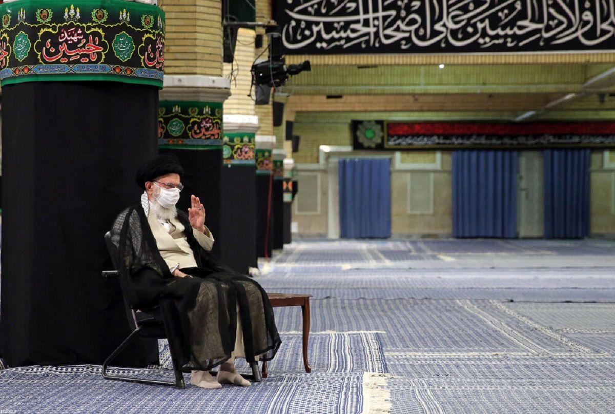 عزاداری شهادت امام سجاد (ع) با حضور رهبر انقلاب