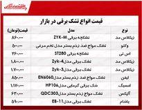 قیمت انواع تشک برقی در بازار چند؟ +جدول