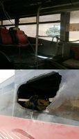 اتوبوس بیآرتی باز هم آتش گرفت +عکس