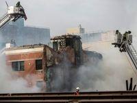 ریزش ساختمان در هند ۳۲ قربانی گرفت