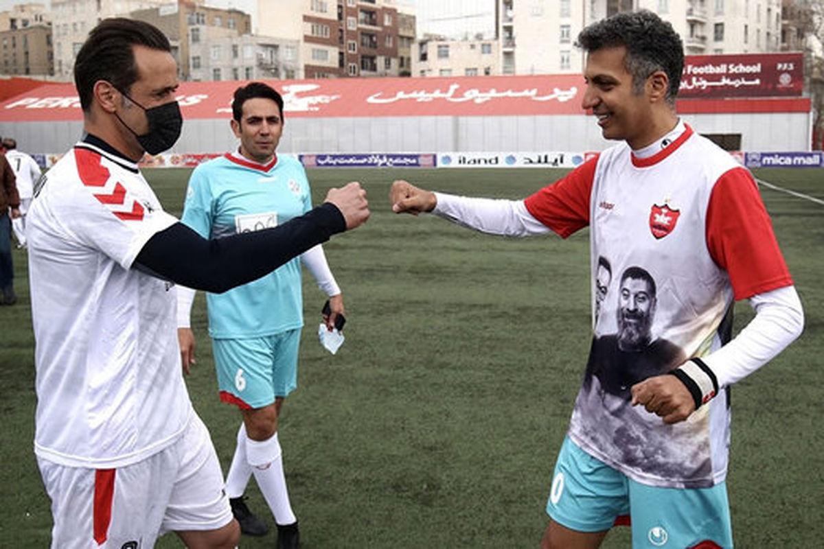 دیدار فردوسی پور با ستاره های فوتبال جهان + عکس