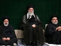 مراسم عزاداری شام غریبان در حسینیه امام خمینی برگزار شد