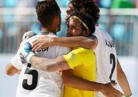 بازتاب برد تیم ملی فوتبال ساحلی ایران در سایت فیفا