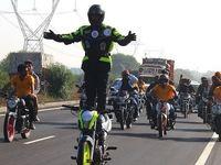 عجیبترین رکوردهای موتورسیکلتی در دنیا +تصاویر