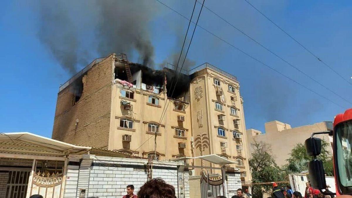 سه کشته در پی انفجار منزل مسکونی + عکس