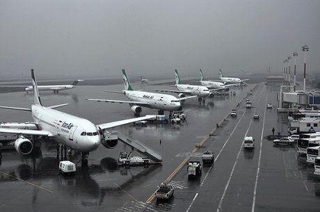 رشد ۱۰درصد پروازهای فرودگاهی در فروردین ماه