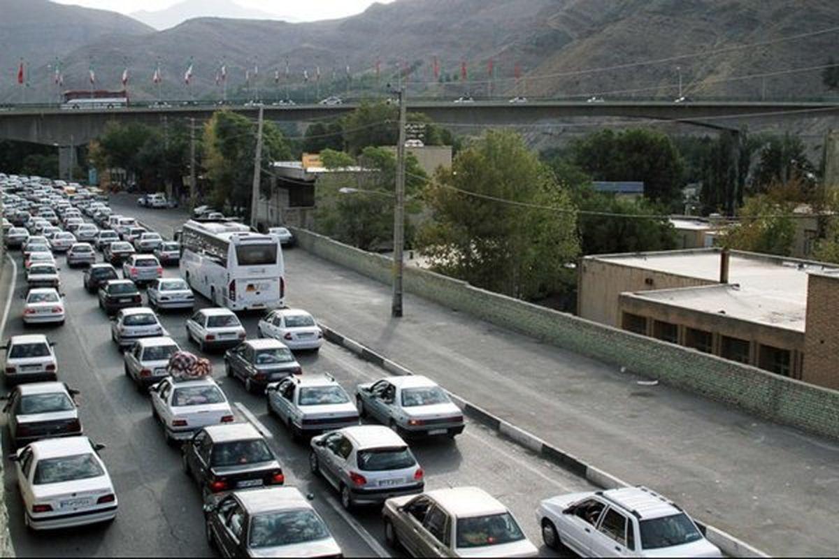 محدودیت ترافیکی محورهای برون شهری تا 4شهریور