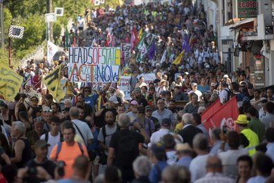 ورود رهبران کشورهای عضو گروه هفت به فرانسه
