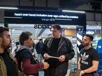 گشت تعزیرات در مرکز خرید پالادیوم +تصاویر