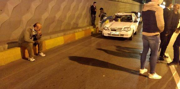 پاکبان جوان شهرداری در تصادف خودرو جان باخت