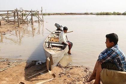 روستاهای سیل زده سوسنگرد +تصاویر