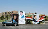 شیوه جدید تبلیغات بشار اسد + فیلم