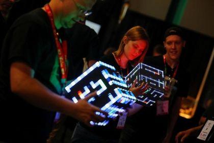 نمایشگاهی برای بازیهای کامپیوتری +تصاویر