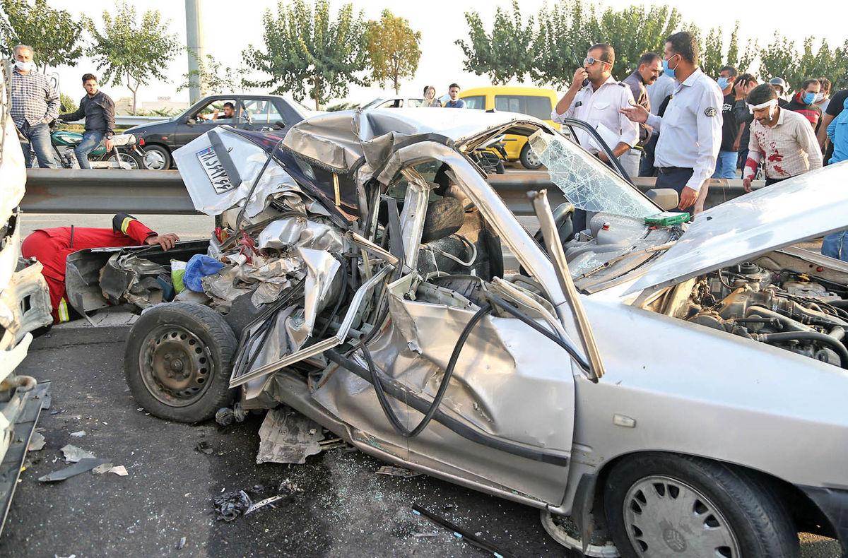 زخم کاری تصادفات رانندگی