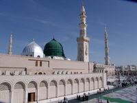 چترهای غول پیکر مسجد النبی +فیلم