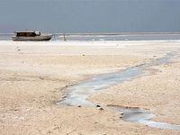 رهاسازی آب سد به دریاچه ارومیه در پاییز