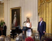 واکنش دیرهنگام همسر ترامپ به حادثه کنگره