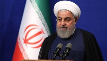 روحانی: ماکرون در تلاش است راه حلی پیدا کنید +فیلم