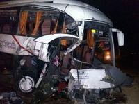 تصادف پراید با اتوبوس 2کشته داشت
