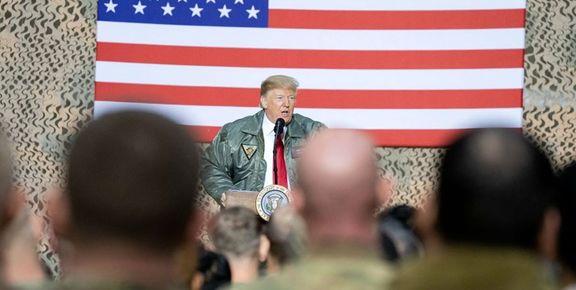 ترامپ: در عراق میمانیم تا حواسمان به ایران هم باشد