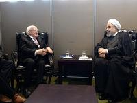دیدار روسای جمهوری ایران و ایرلند