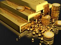 کاهش 6دلاری قیمت طلا در بازارهای جهانی