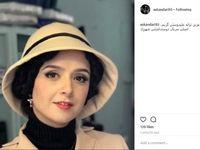 گریم اصلی ترانه علیدوستی در سریال «شهرزاد» +عکس
