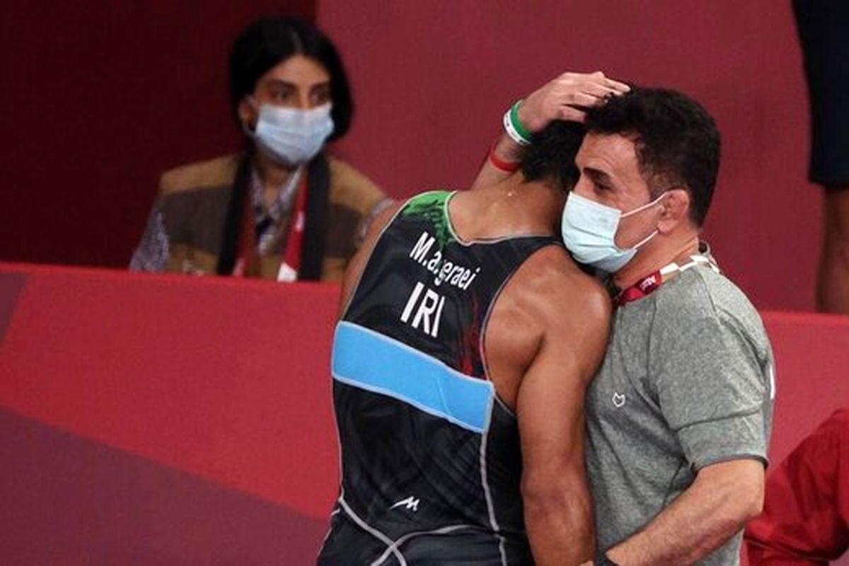 گرایی از فینال المپیک باز ماند