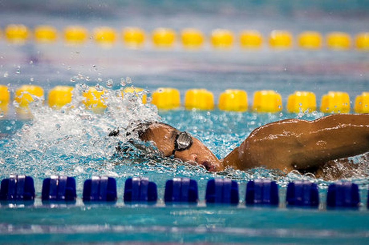 سومین مدال شناگران ایران در قهرمانی آسیا
