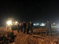 تلاشها برای انتقال هواپیمای ماهشهر همچنان ادامه دارد