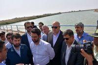 وزیر ارتباطات از سد تنظیمی مارد در خرمشهر بازدید کرد