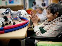 رباتهای ژاپنی برای مراقبت از سالمندان +تصاویر