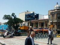 آغاز مرمت میدان تاریخی حسن آباد