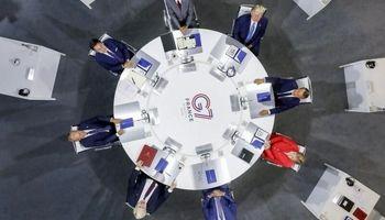 نخستین شکافها در بین رهبران گروه ۷ در بیاریتز
