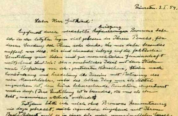 نامه انیشتین ۲.۹میلیون دلار فروخته شد