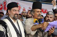 عکس جالب محسن رضایی در لباس بختیاری