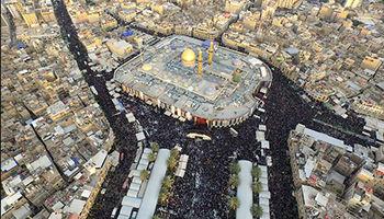 رشد 50درصدی زیارت ایرانیان از کربلا در اربعین