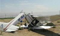 سقوط یک هواپیمای غیرنظامی