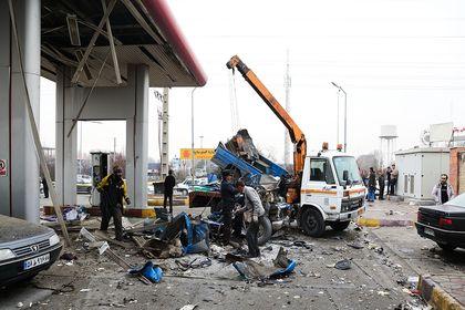 انفجار در جایگاه CNG +عکس