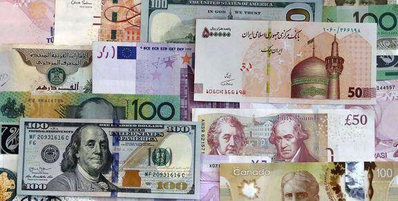 افت نرخ رسمی ۲۴ ارز