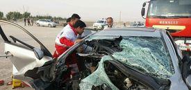 تصادف مرگبار در محور قدیم ساوه-تهران