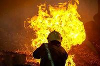 آتش سوزی میلیاردی بامداد امروز تهران عمدی بود