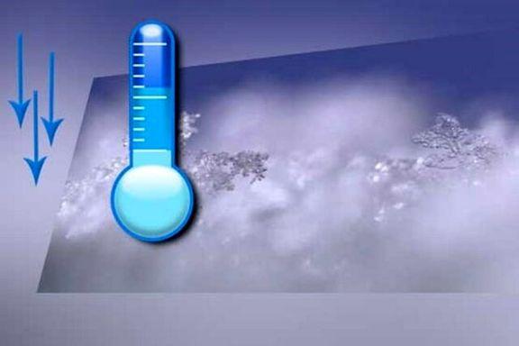 دمای هوا نسبت به سال گذشته چقدر کاهش داشته است؟
