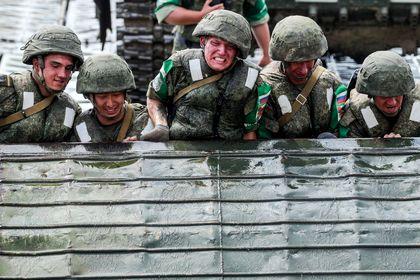 رقابتهای ارتش جهان در روسیه +تصاویر